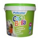 Vopsea lavabila interior Casabella, alb, 15 L