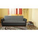 Canapea extensibila 3 locuri Klic-Klak, cu lada, diverse culori, 90 x 230 x 86 cm
