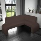 Coltar bucatarie Felix, pe stanga, maro, 195 x 137 x 84 cm 2C