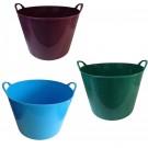 Cos multifunctional gradat, flexibil, diverse culori, 40L