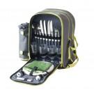 Geanta pentru picnic D65003, + accesorii pentru 4 persoane