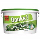 Vopsea lavabila de interior Danke peretii respira 2.5L
