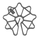 Distatier ath pentru grinzi-stalpi (punga 100 buc)