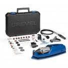 Unealta multifunctionala, Dremel 4000, 175 W, cu 65 accesorii,  F0134000JS