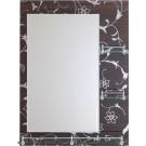 Oglinda cu 3 polite E230 60x80 cm
