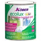 Email ecologic Kober Ecolux maro roscat 0.75 l