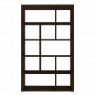 Etajera 2, PAL, sonoma dark, 113 x 33.5 x 188.5 cm, 3C