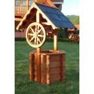 Fantana din lemn 73x66x121 cm