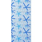 Covoras baie Netty Azzur, model marin, albastru, 65 cm