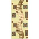 Covor pentru baie Decoflexy Safari Cioccolato 65 cm