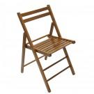 Scaun pliant Igor lemn culoare nuc