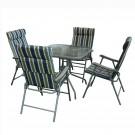 Set Geneva masa cu 4 scaune  8120002B