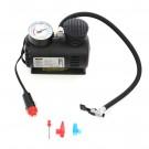 Compresor auto cu manometru, Unitec, 18 bar 12V, negru, 19.5 x 10.5 x 15 cm