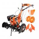 Motocultor pe benzina Ruris 751 KS 8.5 CP, 3 viteze + accesorii