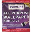 Adeziv pentru tapet, interior, Euroline, incolor, 60 gr