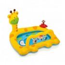 Piscina gonflabila Intex Baby Pool 57105NP, pentru copii, 112 x 91 x 72 cm