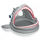 Piscina gonflabila Intex Shark Shade 57120NP pentru copii 201 x 198 x 109 cm