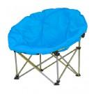 Scaun camping pliant Luna albastru D10121A structura metalica albastru 80 x 80 x 75 cm