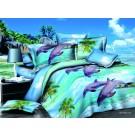 Cuvertura de pat 3D, microfibra, diverse culori, 210 x 230 cm