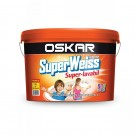 Vopsea superlavabila interior Oskar Superweiss Super alb 15L