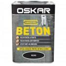 Vopsea acrilica Direct pe beton Oskar, exterior, neagra, 0.75 L