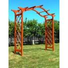 Pergola din lemn 246x98x235 cm
