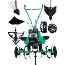 Motocultor pe benzina Verdina HSD1G80 950 6.5 CP, 3 viteze + accesorii