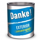Vopsea alchidica pentru lemn / metal, Danke, interior / exterior, bleu, 0.75 L