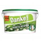 Vopsea lavabila interior Danke - peretii respira alb 15L