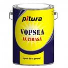 Vopsea alchidica pentru lemn / metal, Pitura, interior / exterior, neagra, V53900, 4 L
