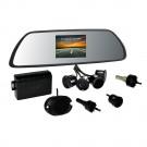 Senzori parcare cu afisaj in oglinda si camera PNI P05