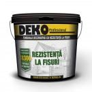 Tencuiala decorativa, cu silicon - silicat si fibre, Deko Professional, aspect striat, brandy R15, interior / exterior, 25 kg