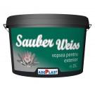 Vopsea lavabila Sauber Weiss exterior 3 l