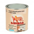Lazura pentru lemn Savana aspect antic alb fildes 0,5 litri
