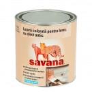Lazura pentru lemn, pe baza de apa, Savana, maro frappe, interior / exterior, 0.5 L