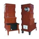 Soba teracota, pe lemne, mobila, tip E cu plita, 8 kW, 1250 x 460 x 660 mm