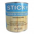 Grund pentru lemn, Sticky, incolor, 0.75 L