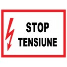 Indicator Stop Tensiune 28x21 cm