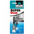 Adeziv universal, Bison Super Glue - Liquid Control, transparent, 3 g