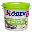 Tencuiala decorativa Kober cu fibre de carbon alba 25 kg