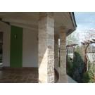 Piatra naturala decorativa travertin, interior / exterior, multicolora, 7,5 x 2,2 cm