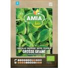 Seminte legume bio Amia, valeriana Gosse Graine
