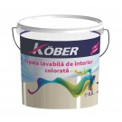 Vopsea lavabila interior, Kober, verde mar, 8.5 l