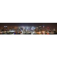 Panou decorativ bucatarie Splashback, compozit, luminescent, SPB 015, urban, 4000 x 600 x 5 mm
