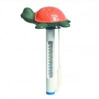 Termometru pentru piscina, broasca testoasa  0181029, 0 - 50 grade C