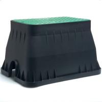 Boxa protectie pentru sisteme de irigatii, PVC, 46.5 x 33 cm