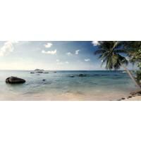 Panou decorativ bucatarie Splashback, compozit, luminescent, SPB 050, 2950 x 600 x 5 mm