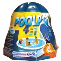 Dozator Poolp'O 500 G, pentru 10-20 m3, include solutie 4 actiuni