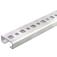 Sina perforata FS 1108123, otel, 25 x 10 x 2000 mm