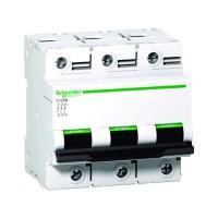 Intrerupator automat modular Schneider Electric C120N A9N18367, 3P, 100A, curba C